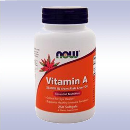 NOW Vitamin A (25,000 IU)