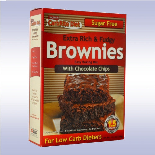 Universal Nutrition Doctor's Carbrite Diet Sugar Free Brownie Mix