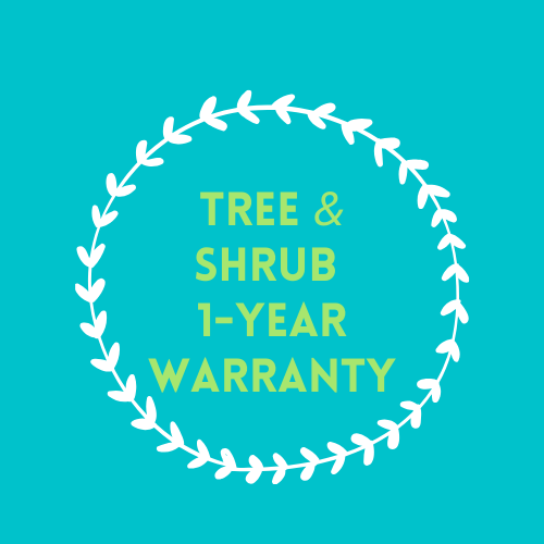 Tree & Shrub 1-year Warranty