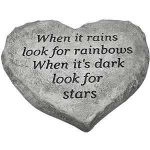 Heart Stone-When It Rains Look For Rainbows
