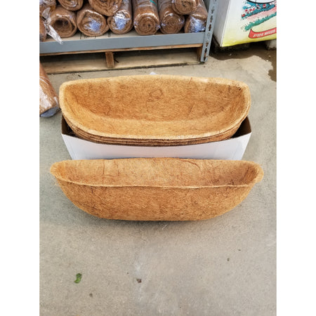 "24"" Trough Cocoa Liner"