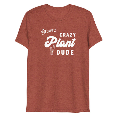 Crazy Plant Dude Short Sleeve T-shirt