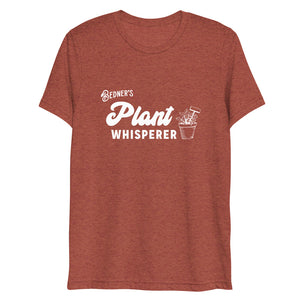 Plant Whisperer Short Sleeve T-shirt