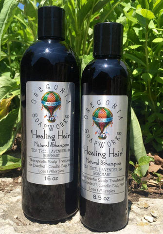 'Healing Hair' Natural Shampoo - 16 oz