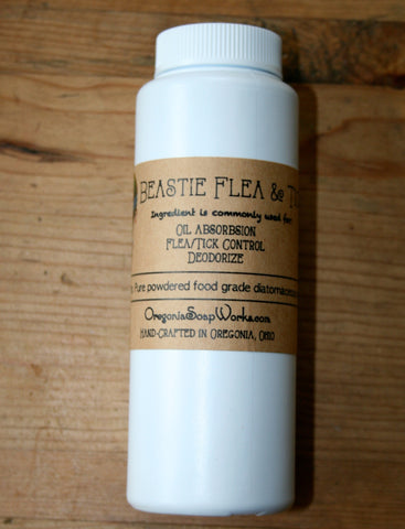 Beastie Flea & Tick Powder