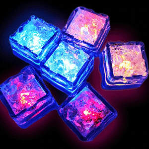LED Water Activated Ice Cubes