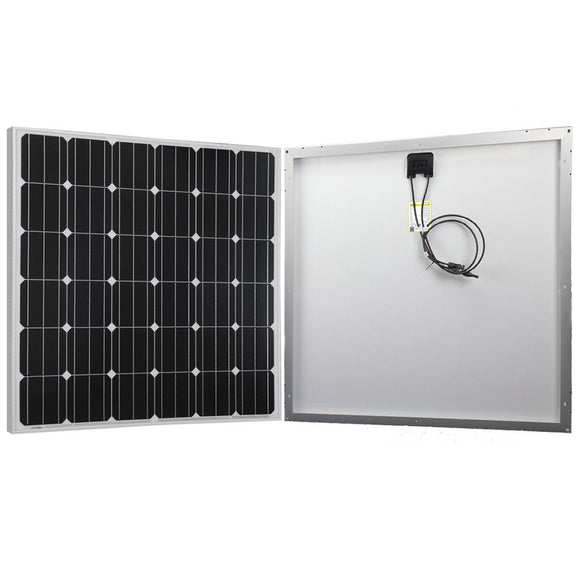 150 Watt 12 Volt Monocrystalline Solar Panel - Uncle Buzz
