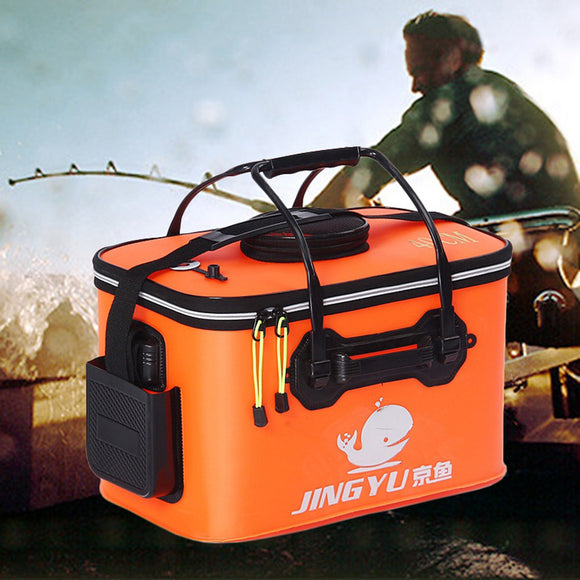 Portable Collapsible Folding Fishing Bucket Outdoor Barrel Camping Travel Tool