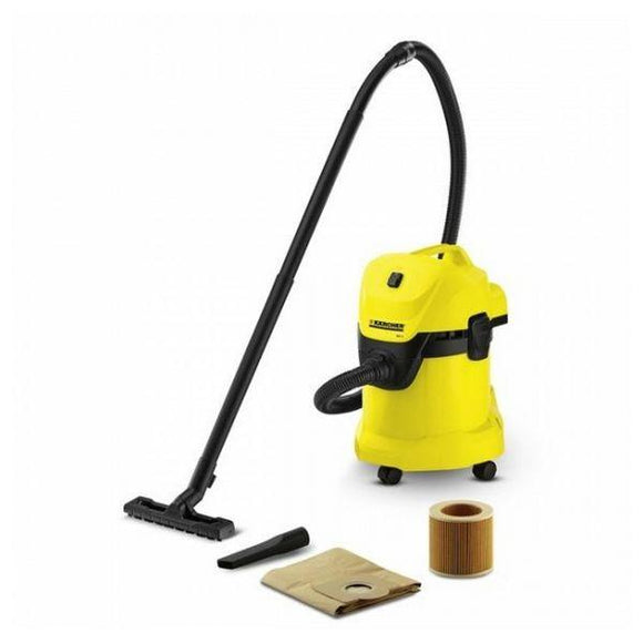 Bagged Vacuum Cleaner Karcher WD 3 17 L 1000W Yellow - Uncle Buzz