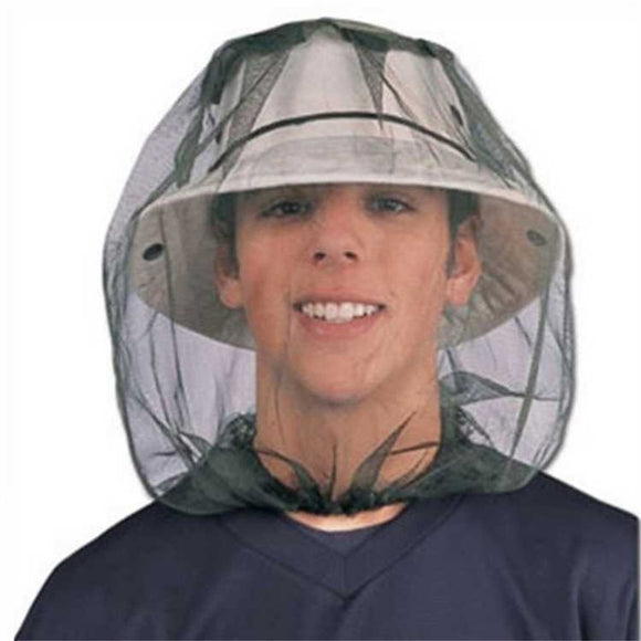 Anti-Mosquito Insect Head Face Protect Mesh Net Cap for Fishing Camping Hunting