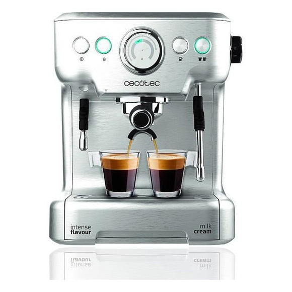 Express Manual Coffee Machine Cecotec Power Espresso 20 Barista Pro 2,7 L Silver - Uncle Buzz