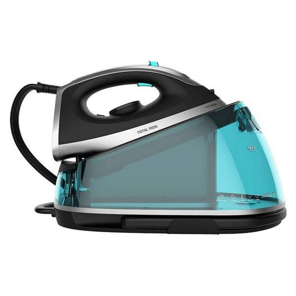 Steam Generating Iron Cecotec Total Iron 7000 Steam Pro 6 bar 135 g/min 2400W Black - Uncle Buzz