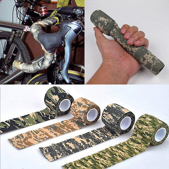 4.5m x 5cm Military Outdoor Hiking Camping Hunting Camouflage Stealth Camo Tape