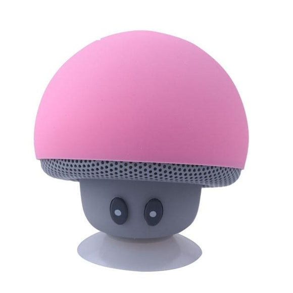 Mini Mushroom Speaker Wireless Bluetooth 4.1 Speaker MP3 Player with Mic Portable Stereo Blutooth For Mobile Phone - Uncle Buzz