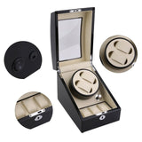 Automatic Rotation Silent 2+3 Watch Winder Case