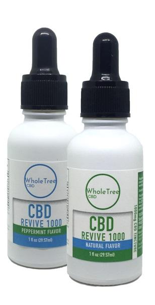 Revert WholeTree Cannabis CBD Oil | Cannabinoid Tincture | 1000 MG | 1 fl oz. (30 ml) - Uncle Buzz