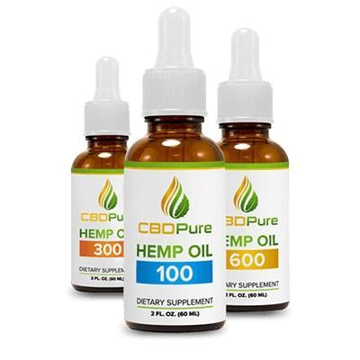 CBDPure All-Natural Cannabinoid Tincture Oil | Pet Drops | Capsules | 2 fl oz. (60ml) - Uncle Buzz