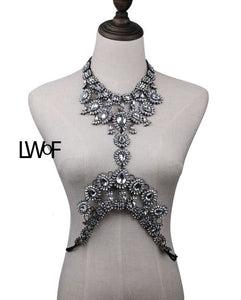Exquisite Bodychain Vintage Statement Jewelry