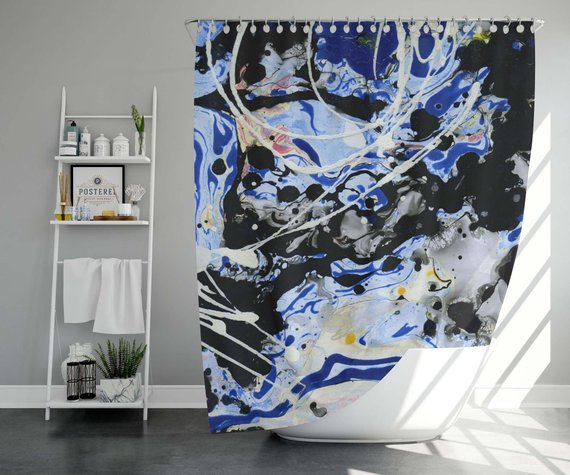 Bathroom Curtain Bathroom Art Bath Curtain Shower