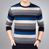 2019 brand social cotton thin men's pullover sweaters casual crocheted striped knitted sweater men masculino jersey clothes 5066 - 3123Navy / L - 3123Navy / XXL - 3123Navy / M - 3123Navy / XL - 3123Navy / XXXL
