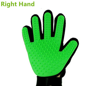 ULTRASOUND PET Dog Hair Brush Glove For Pet Cleaning Massage Grooming Comb Supply Finger Cleaning Pet Cats Hair Brush Glove