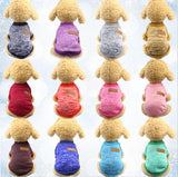 Dog Sweaters Fashionable Hooded Dog Clothes Sports Hoody Jumper Puppy dogs Ja For Pet Small Big Larger Dog Coat XS-XXL