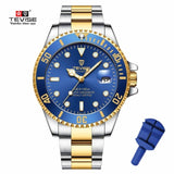 Drop Shipping Tevise Top Brand Men Mechanical Watch Automatic Fashion Luxury Stainless Steel Male Clock Relogio Masculino 2020 - XS3