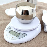 Kitchen 5000g/1g 5kg Food Diet Postal Kitchen Scales balance Measuring weighing scales LED electronic scales - Default Title