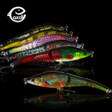 QXO Fishing Lures Jig Metal Wobbler Lures Fishing Popper Hard Jigging Lure Ice Vib 9.5cm 10 g Duck Sea Minnow Shad Spinners
