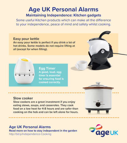 Age UK Personal Alarm advice