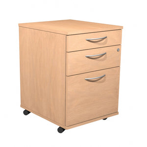 Alpine Mobile Pedestal 3 Drawer