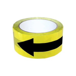 One Way Safe Distance Direction Tape 33M