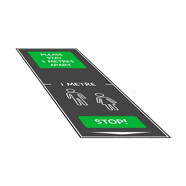 Safe Distance Floor Mat