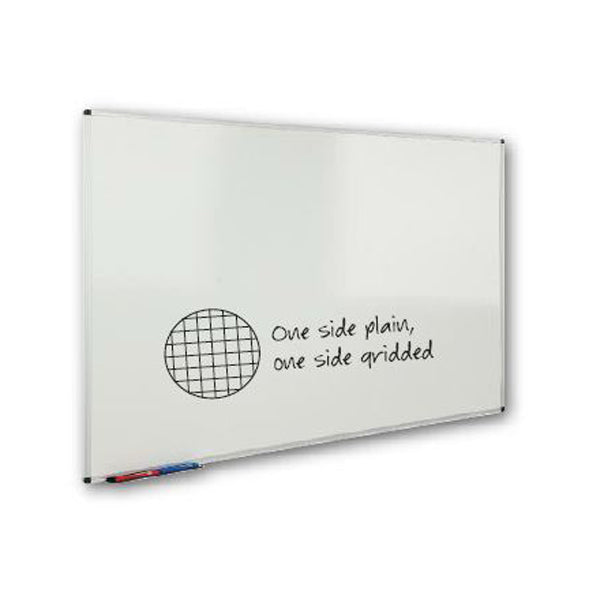 Plain & Gridded Non-Magnetic Whiteboards