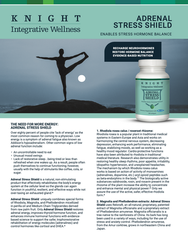 Knight Integrative Medicine Adrenal Stress Sheild