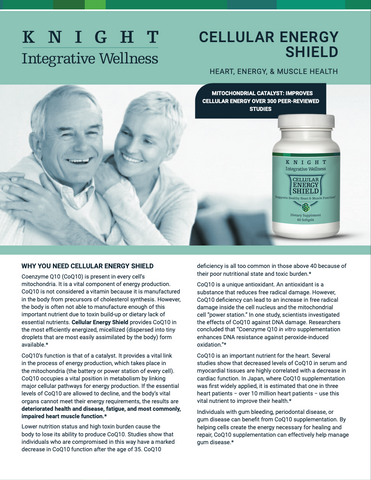 knight integrative - cellular energy shield