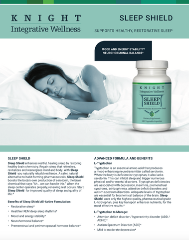 Knight Integrative medicine - Sleep Shield
