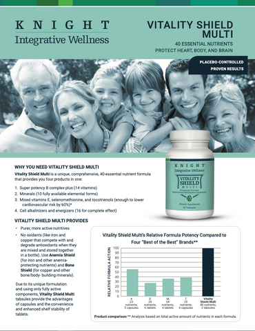 knight integrative medicine - vitality shield