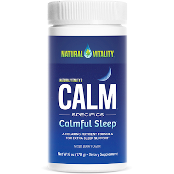 Natural Vitality Natural Calm Calmful Sleep 6oz