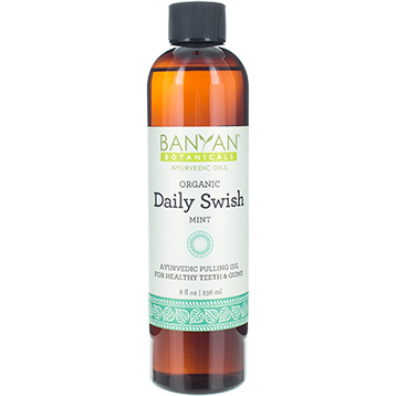 Daily Swish Oil Pulling, Organic 8fl oz