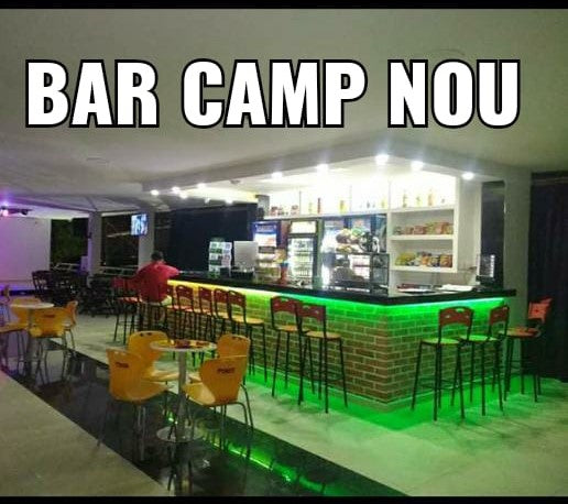 BAR CAMP NOU