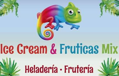 Ice cream & fruticas mix