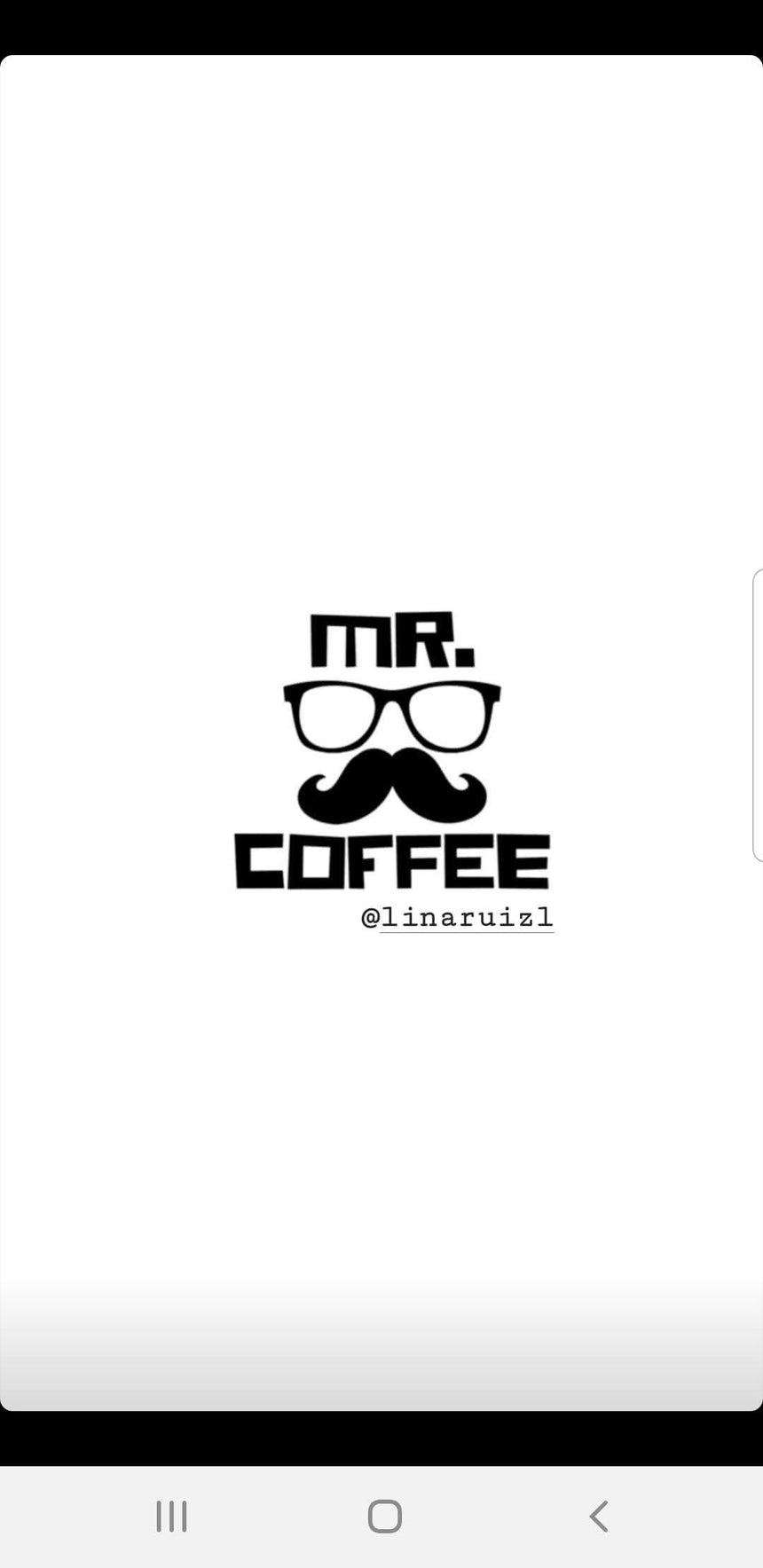 Mr.coffee lunch