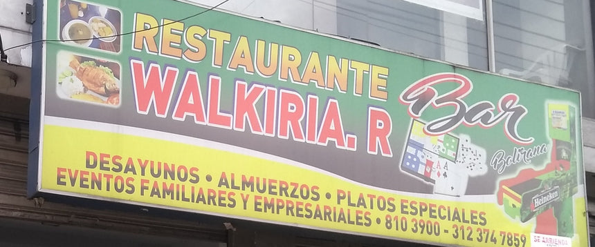 RESTAURANTE WALKIRIA BAR