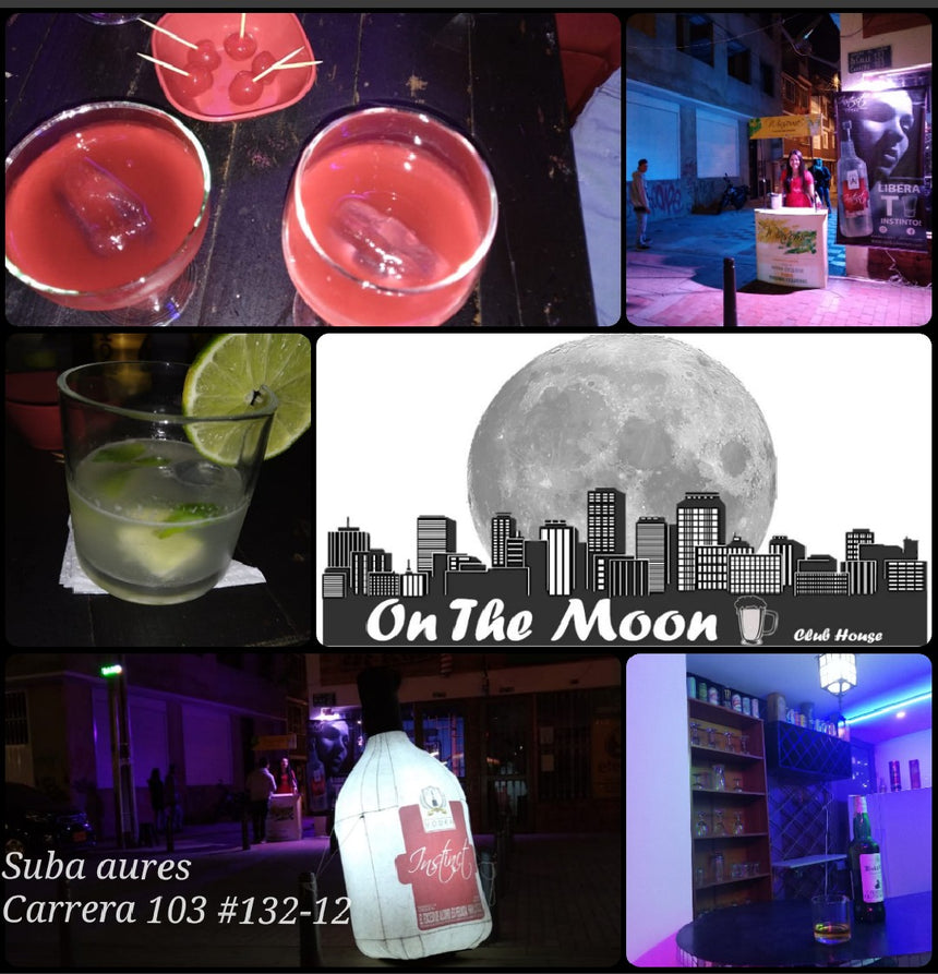 On the moon club house