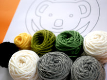 "Load image into Gallery viewer, ""Cute Koala"" Punch Needle Kit"