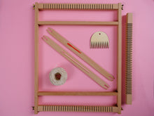 Load image into Gallery viewer, Berry Weaving Kit with Medium Loom