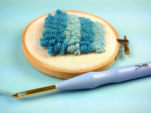 Load image into Gallery viewer, Kit & Online Class - Iced VoVo Punch Needle Pillow