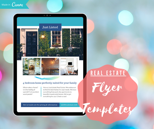 11 Page Real Estate Flyer Template Bundle | Customizable on Canva - Best Real Estate Store