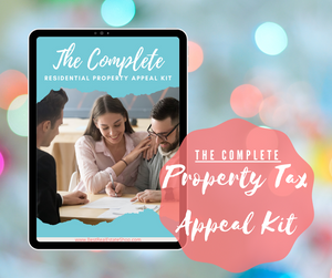 The Complete Residential Property Tax Appeal Kit | Real Estate Lead Generation - Best Real Estate Store